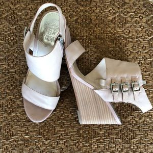 Vince Camuto wedge sandals, size 7 1/2